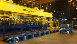 Athader packaging line