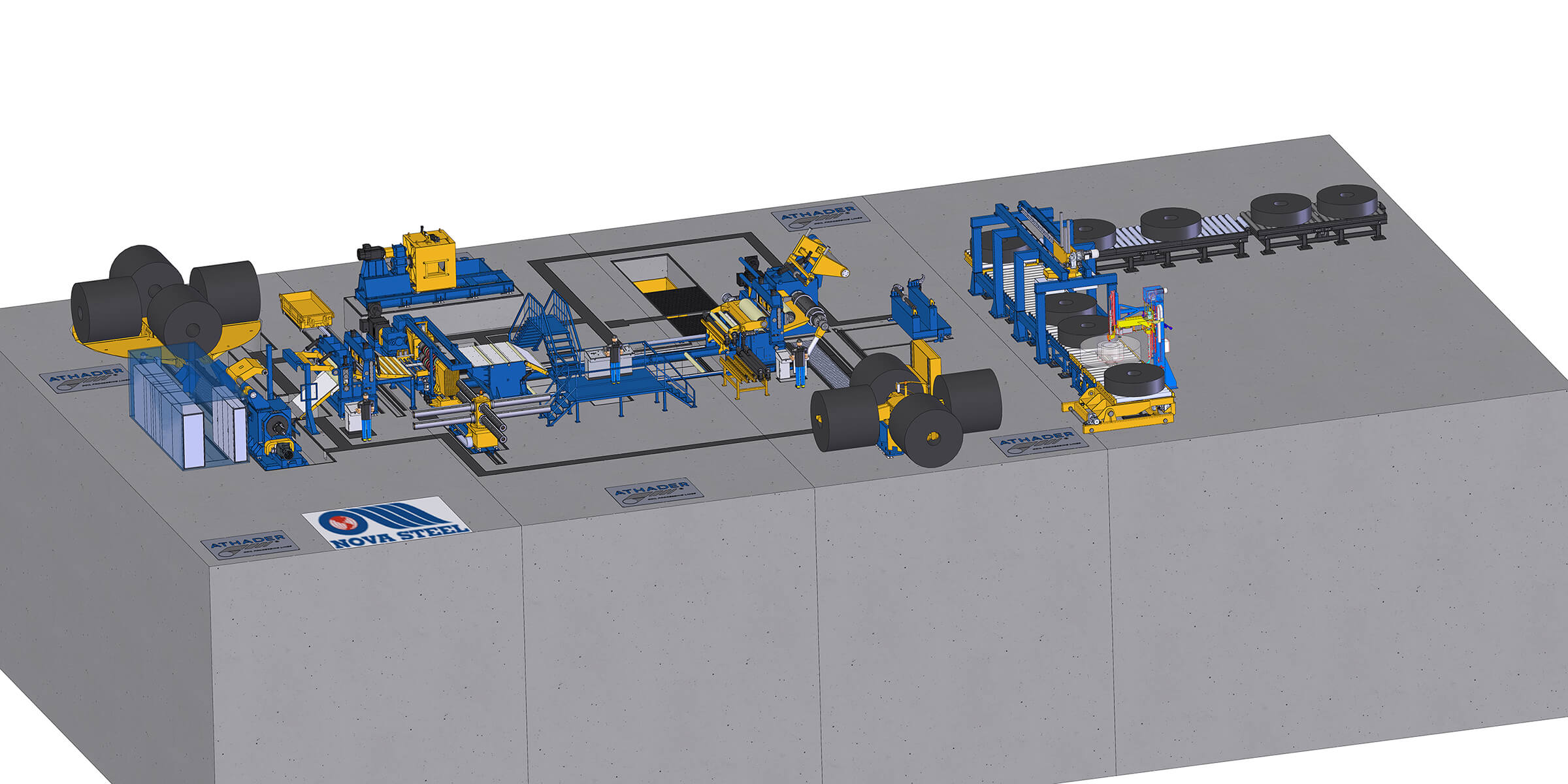 Nova Steel Athader Slitting Line