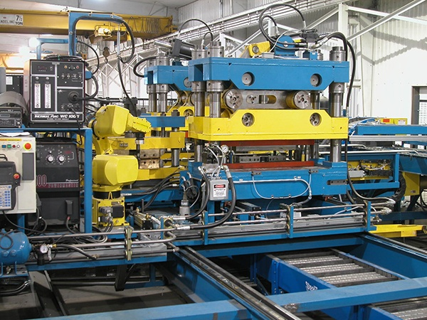 Bradbury Automated Production System Line with Robotic Welding